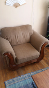 Cozy, Plushy Loveseat and Chair Set