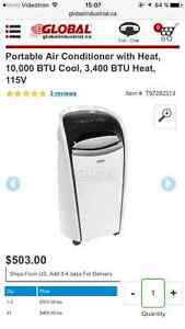 Brand New Portable Air Conditioner With Heat