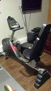 Recumbant exercise bike