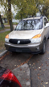 2003 Buick Rendezvous Tan and Grey SUV, Crossover