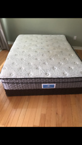 Mattress with box sealy posturepedic queen size
