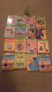 Lot of 16 Tag Junior Books By Leapfrog Mint w/ Puppy Pen Reader