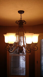 Classic chandelier - 6 lights, mint conditions (no chips, crack)