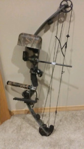 Martin compound left hand bow