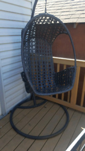 Basket chairs two