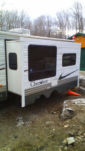 trade camper trailer for motorcycle