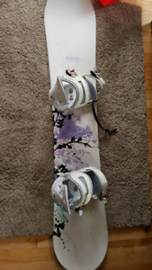 Morrow Snowboard and Firefly boots