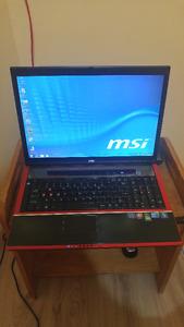 MSI GX740 Portable Gaming