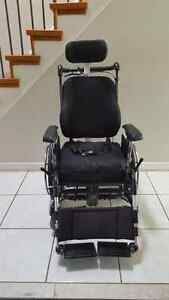 Tilt-in-Space Manual Wheelchairs with Roho Cushion