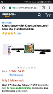 Xbox Kinect with Adventure game