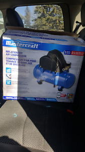 2 gallon air compressor . Brand new