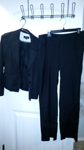 Beautiful new condition R&W black pinstripe suit