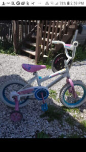 16 inch girls supercycle bicycle