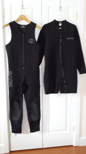 Wet Suit  for Men - Bare 2 piece 3mm  Size Large in North Bay