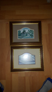 Pictures for sale-One lamp $10.00