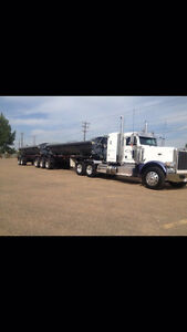 2014 Peterbilt 388 for sale and side dumps Smithco