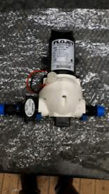 Caravan , Flowjet water pump