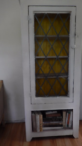 FINAL REDUCTIONshabby chic, vintage cottage cupboard/cabinet