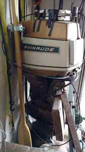55hp Evinrude Outboard Long Shaft