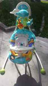 FISHER PRICE STATIONARY SWING 7/10 SHAPE 80.00 OBO