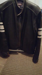 MOTORCYCLE LEATHER JACKETS & VEST