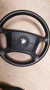 BMW E36 STEERING WHEEL AND E36 PASSENGER SEAT