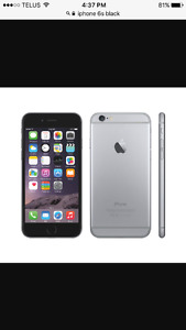 iPhone 6S 32 GB black for Samsung galaxy S6