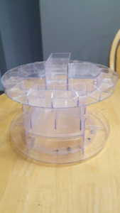 Make-up organizer and Q-tip holders