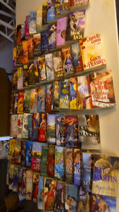 82 LARGE ROMANCE BOOKS .CHEAP CHEAP