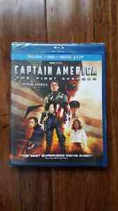 Captain America The First Avenger Blu-Ray + DVD