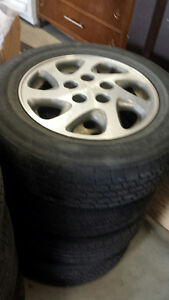 "Set of 4  15"" Toyota Rims"