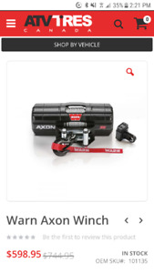 Warn Winch | Find New ATV Trailers, Tires, Parts & Accessories Near on