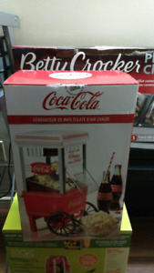 Coca Cola popcorn maker brand new