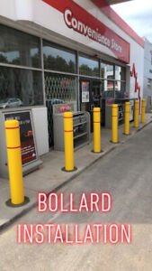BOLLARD & POST INSTALLATION