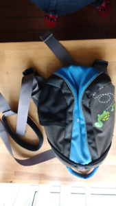 Baby walking harness with back pack