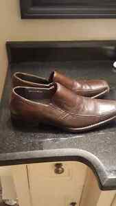 Dress shoes brown color size 44 (10-10.5)