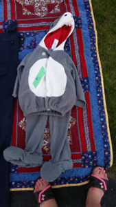 2T-3T shark costume $5