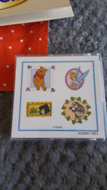 Embroidery cards