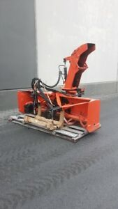 "2007 Pronovost 92"" Rear Mount Inverted Snowblower"