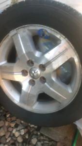 DODGE CALIBER Rims & Tires