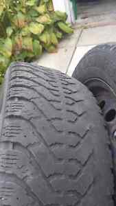225 50 r17 rims plus used tires (4) Gatineau Ottawa / Gatineau Area image 1