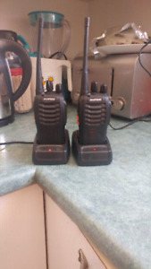 Two way walkie talkie set