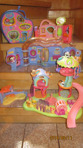 Littlest Pet Shop - Playhouse et Playground