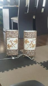 Table lamps, handmade, 100% Mexican.