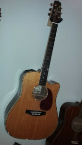 TAKAMINE NASHVILLE PRO SERIES TNV360SC COOLTUBE &TRIAX PICK UP