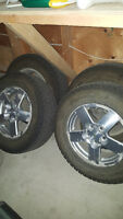 4 winter tires and rims 235/60R16 (16 inch) - Pontiac Torrent