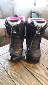 Women's North wave TF2 snowboarding boots size 7 Kitchener / Waterloo Kitchener Area image 3