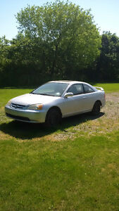 *FOR PARTS*  2003 Honda Civic Coupe (2 door)