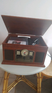 5 in one record player