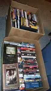 Large collection of dvds for sale